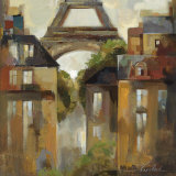 Paris Late Summer I Art by Silvia Vassileva