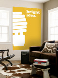 Bright Idea Wall Mural