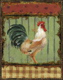 Rooster Portraits III Prints by Daphne Brissonnet