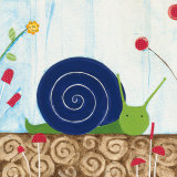 Margot the Snail Prints by Nicole Bohn