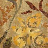 Floral Fragment I Poster by Silvia Vassileva
