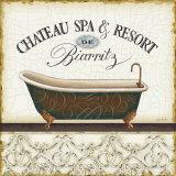 Spa and Resort I Affiches par Lisa Audit