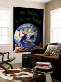 The Future Is In Our Hands Wall Mural