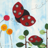The Little Ladybug Posters by Nicole Bohn