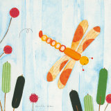 In the Dragonflies Garden Posters by Nicole Bohn
