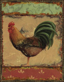 Rooster Portraits IV Posters by Daphne Brissonnet