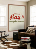 Ray's Pizza Wall Mural