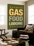 Gas, Food, Lodging Wall Mural