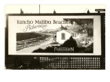 Rancho Malibu Billboard Posters