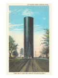 City Water Tower, Newton, Kansas Prints