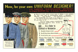 Design Your Own Uniform Posters