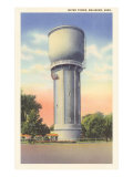 Water Tower, Brainerd, Minnesota Poster