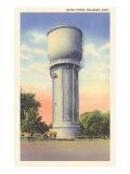 Water Tower, Brainerd, Minnesota Poster