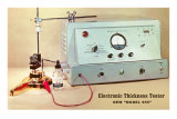 Electronic Thickness Tester Psters