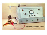 Electronic Thickness Tester Posters
