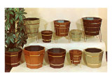 Wooden Houseplant Containers Prints