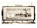 Deauville Beach Club Billboard Prints
