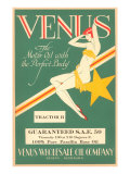 Venus Motor Oil Prints
