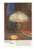 Art Nouveau Handel Lamp Posters