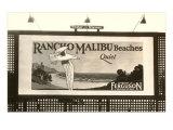 Rancho Malibu Billboard Poster