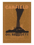 Canfield Oil Products Posters