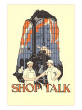 Art Deco Shop Talk Prints