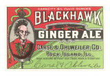 Blackhawk Ginger Ale Prints