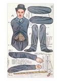 Charlie Chaplin Doll Poster