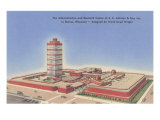 Johnson Wax Building, Racine, Wisconsin Posters