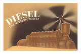 Diesel the Modern Power Posters