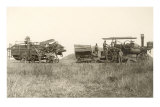 Early Farm Equipment Poster