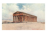 Temple of Theseus Prints