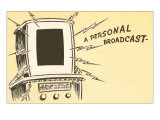 Personal Broadcast, Blaring TV Art