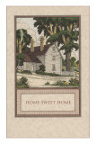 Home Sweet Home, House with Trees Posters