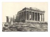 Parthenon at the Acropolis Prints