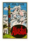 Alaska, Totem Pole Prints