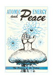 Atomic Energy and Peace Print