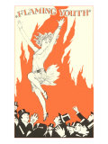 Flaming Youth Flapper Prints