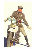 Motorcycle Cop Posters