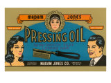 Pressing Oil Hair Tonic Print