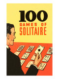 100 Games of Solitaire Posters