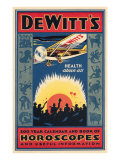 Dewitt's Horoscope Book Print