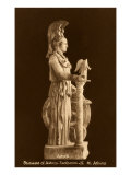 Statue of Athena Parthenos Print