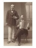 Violin Accordion Duet Posters