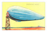 Zeppelin at Mooring Mast Prints