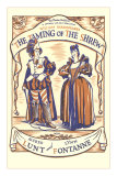 Playbill for Taming of the Shrew with Lunt and Fontanne Prints