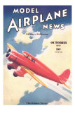Model Airplane News Magazine Cover Prints