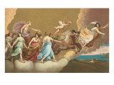Helios with Sun Chariot - Reprodüksiyon
