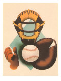 Phantom Baseball Catcher Art