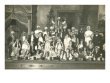 Cast of Musical Comedy Prints